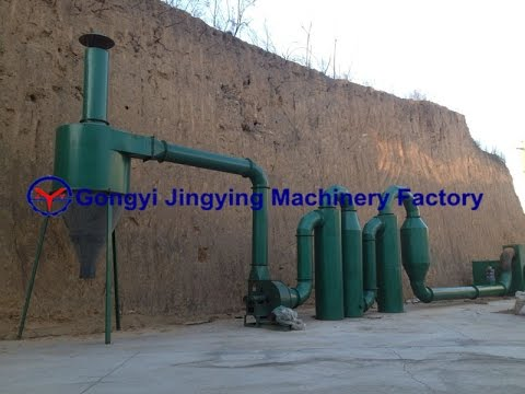 Wood Chips Dryer,  Wood Sawdust Drying Equipment To Make Wood Briket, Charcoal