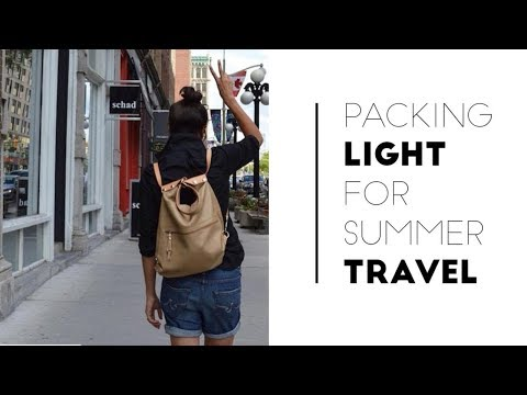 Pack Light for Vacation + 9 Summer Travel Outfit Ideas | Slow Fashion Lookbook