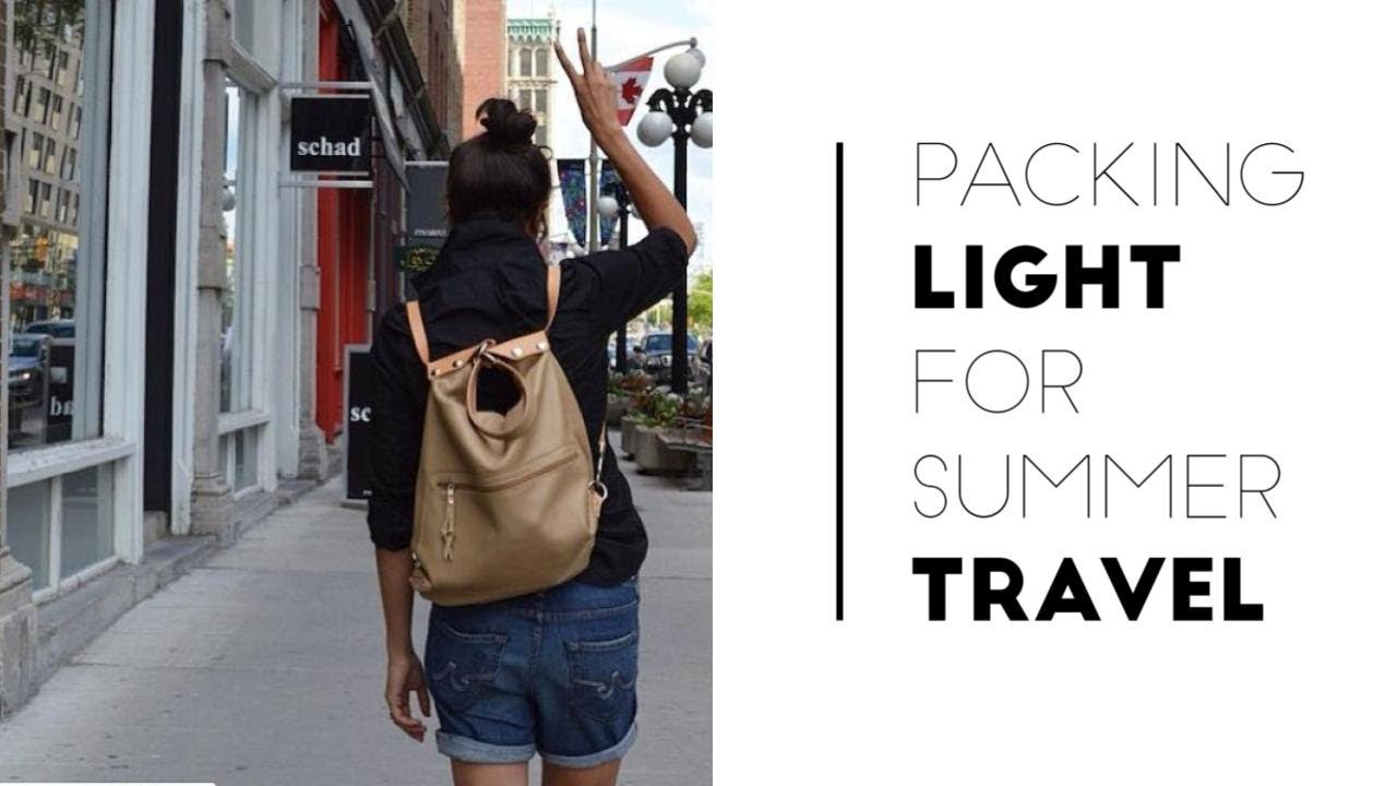 16162721b73 Pack Light for Vacation + 9 Summer Travel Outfit Ideas
