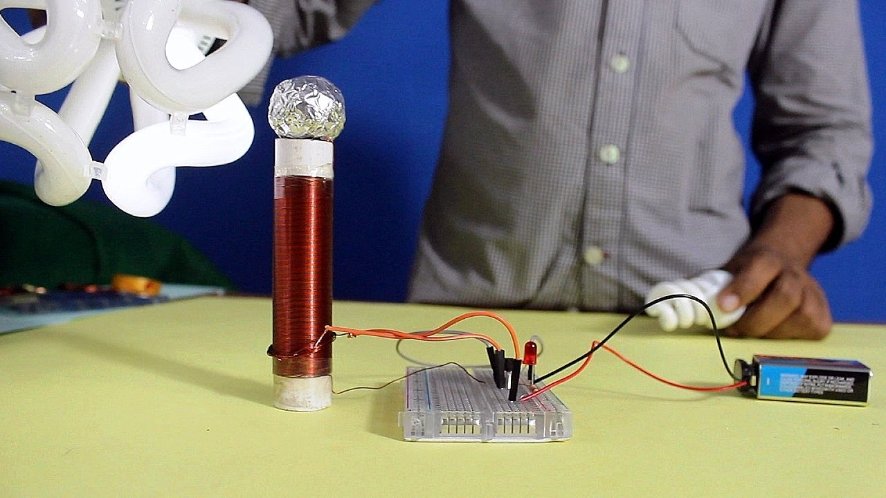 26 Gauge Wire >> How to make Simple Tesla Coil (Urdu) with English subtitle - YouTube