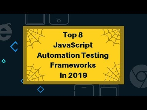 Top 8 JavaScript Automation Testing Frameworks In 2019 | LambdaTest thumbnail