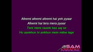 Afeemi Karaoke Meri Pyaari Bindu Sam Karaoke