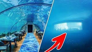 The World's LARGEST Underwater Restaurant Is Now Open!