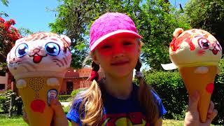Polina encuentra a los juguetes-sorpresa parlantes y a su muñeca desaparecida.
