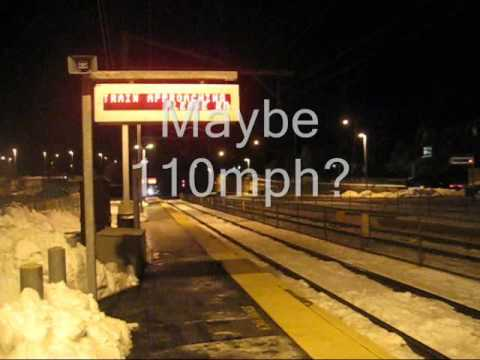 Thumbnail: 110mph Amtrak at Canton Junction