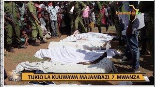 MAJAMBAZI 7 MWANZA WAUWAWA KATIKA MAPIGANO MAKALI YA SIRAHA NA POLISI