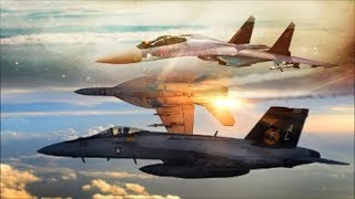 """Sukhoi Su-35 Jets Intercept F-18 & F-15 Fighters Showing Them Who Is The """"Master"""" Of The Sky."""
