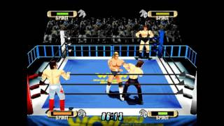 WCW vs nWo World Tour N64 Playthrough - WCW TAG Titles with STING & LEX LUGER (REQUEST)