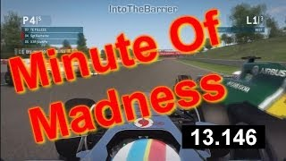 F1 Game 2013 - Minute Of Madness (Episode 1) Thumbnail