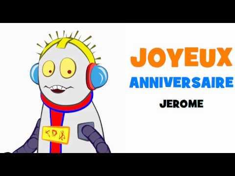 joyeux anniversaire jerome chanson