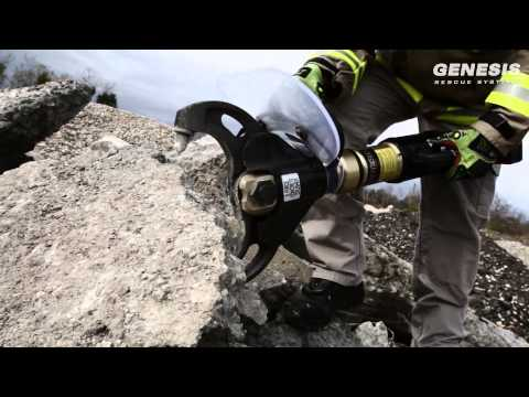 Weber Rescue UK | Genesis Rescue Systems E-Force Concrete Crusher