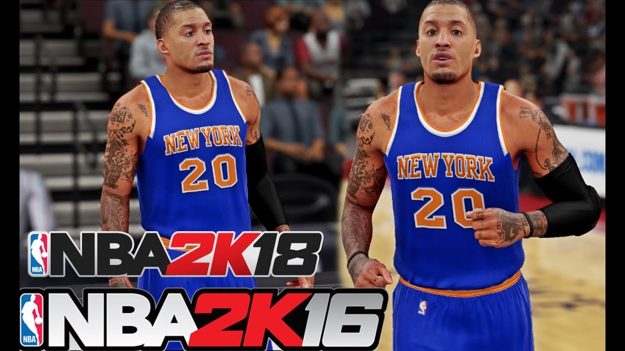 the latest ae2a8 a317b NBA 2K18| 2K16: Michael Beasley To The Knicks | Practice | 1st Game as a  Knicks