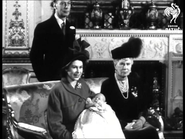 Christening Of Prince Charles (1948)