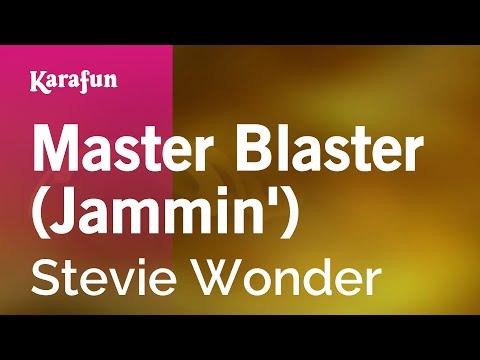 Karaoke Master Blaster (Jammin') - Stevie Wonder *