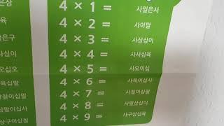 쏨쏨뉴스 구구단특집 4단