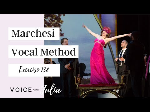 Mathilde Marchesi Bel Canto Vocal Method: Exercise 138