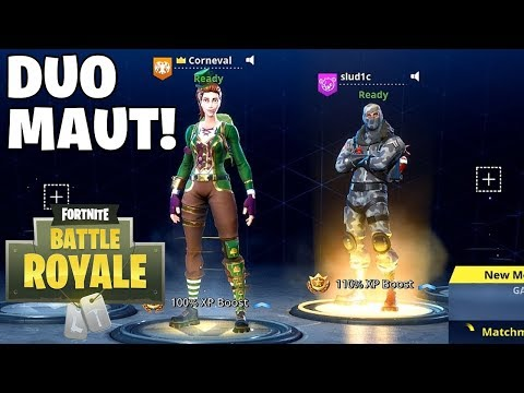 DUO MAUT BARENG NORMAN! - Fortnite: Battle Royale (Indonesia)