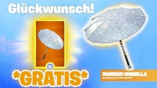 *NEW* SO YOU get a FREE Fortnite DIAMANT GLEITER! | Fortnite Umbrella Glider