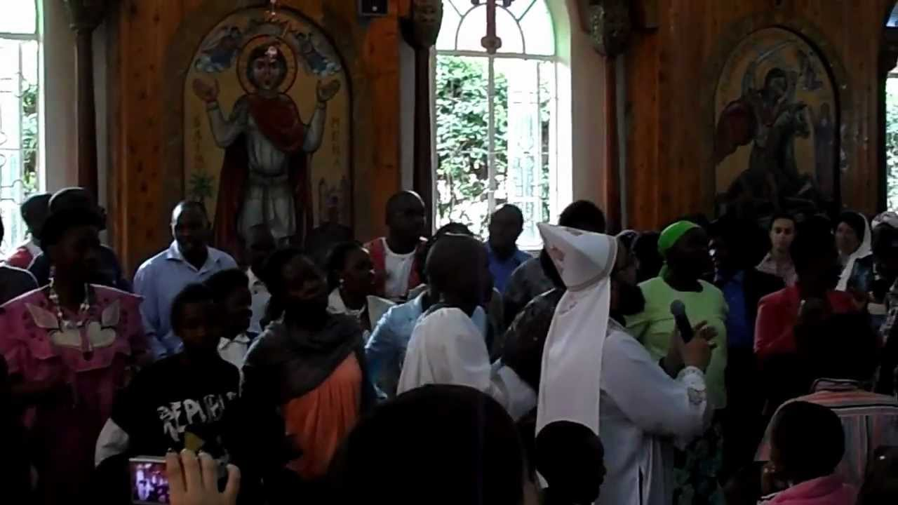 Post-Communion Celebration in a Kenyan Coptic Orthodox Church, Pt. 2