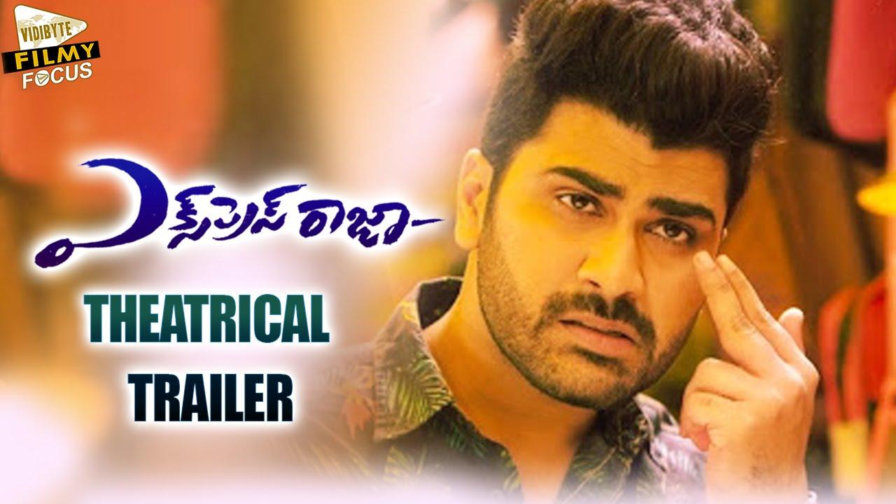 Express Raja Theatrical Trailer Sharwanand Surabhi Filmy Focus
