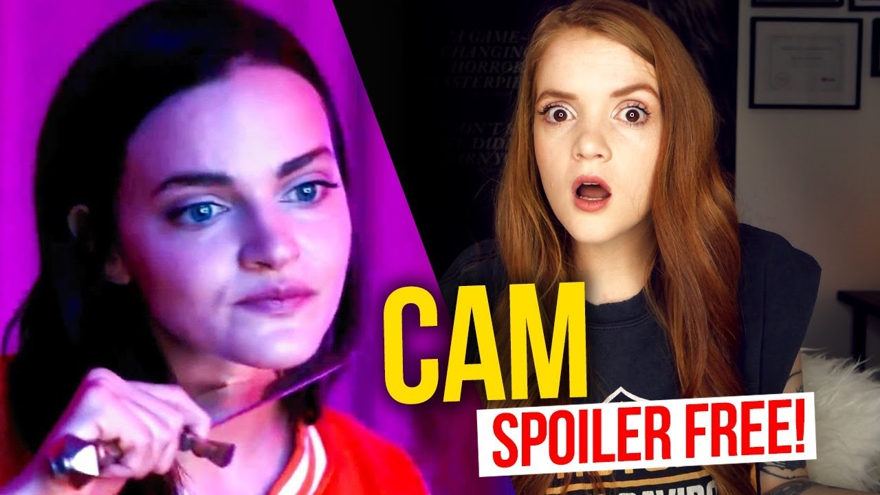 Download Cam (2018) NETFLIX HORROR MOVIE REVIEW *Spoiler Free!