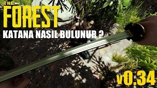 The Forest | Katana Nasıl Bulunur ? Find The Katana