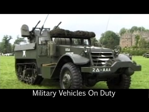 Military Vehicles On Duty