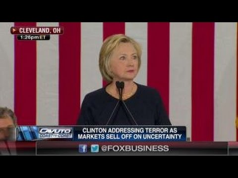 Hillary Clinton addresses terrorism
