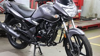 hello and welcome guys. New Honda unicorn 150 ABS review.price.mile...