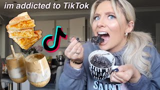 Trying VIRAL tiktok food hacks!!