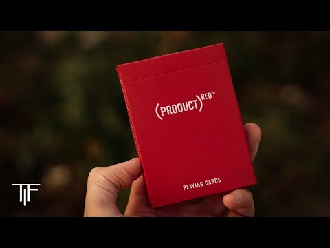 Product RED Playing Cards - Deck Review