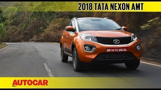 Tata Nexon AMT automatic | First Drive Review |...