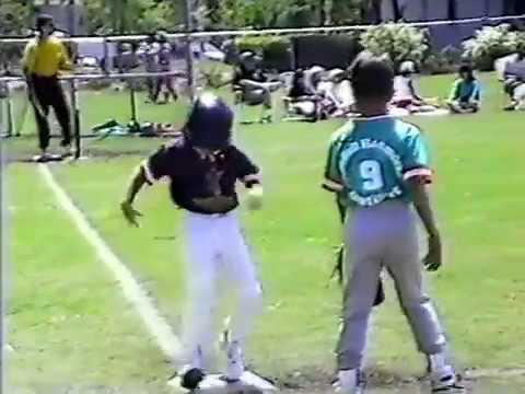 Eddy Santamaria Jr's Shortstops Grill T-Ball Team 1993 & Awards Ceremony