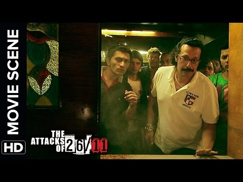 Attack at Leopold Cafe | The Attacks Of 26/11 | Nana Patekar | Movie Scene