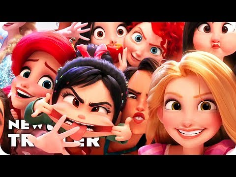 Wreck It Ralph 2 Trailer 3 (2018) Ralph Breaks The Internet