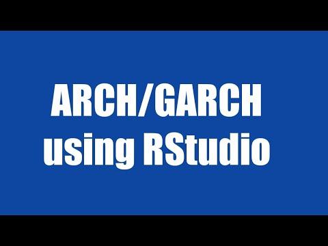 10.2: GARCH Using RStudio