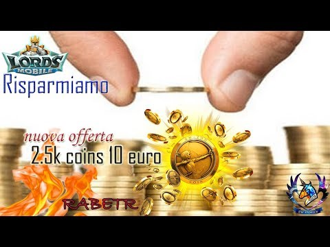 Lords Mobile Offerta Amazon Coins