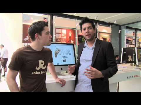 Two recent BSc Multimedia Technology and Design Graduates discuss their placements