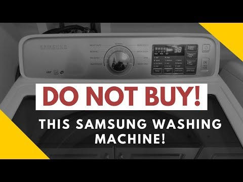 Samsung washer review! DO NOT BUY!