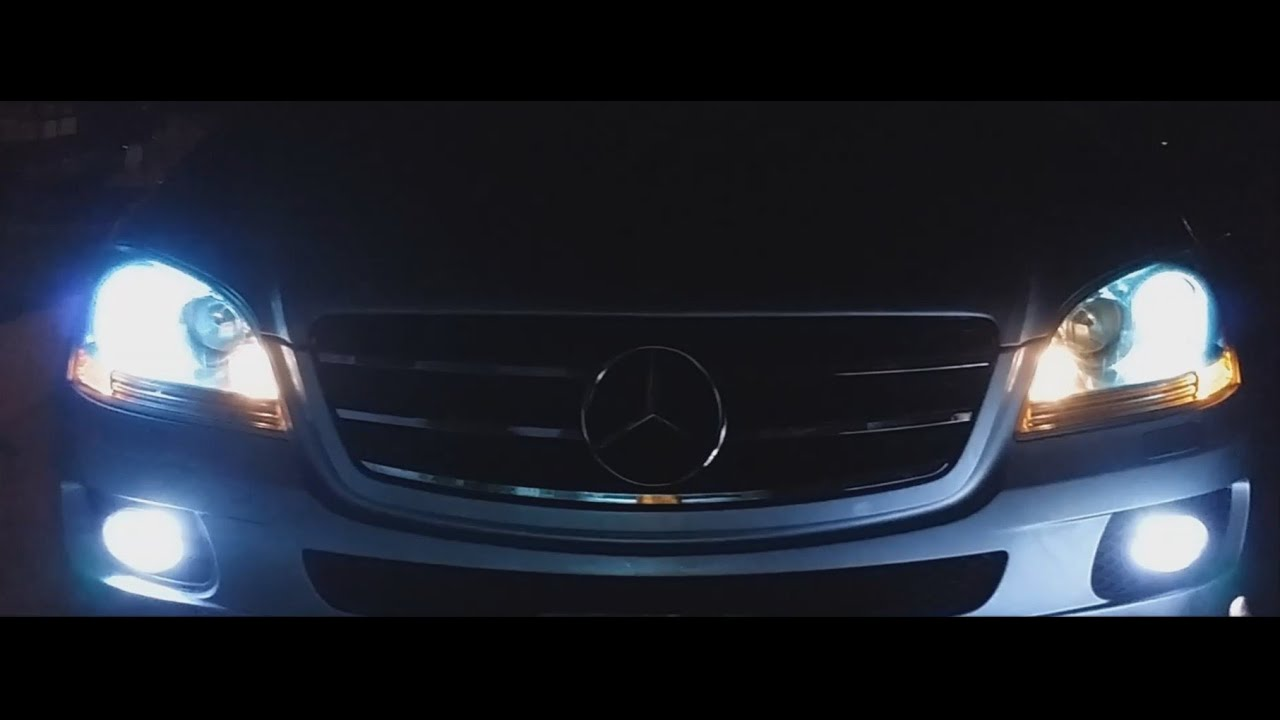 How To Upgrade Led Fog Lights On Mercedes W164 Oval Driving Lamps W Wiring Kit Fits Most Cars Trucks Ml500