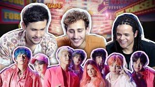 BTS com a HALSEY?!? Boy With Love - React (reagindo a K-pop)