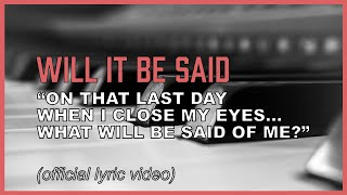 Life is short! What will you do with yours? (Christian song with lyrics inspired by Bible verses)