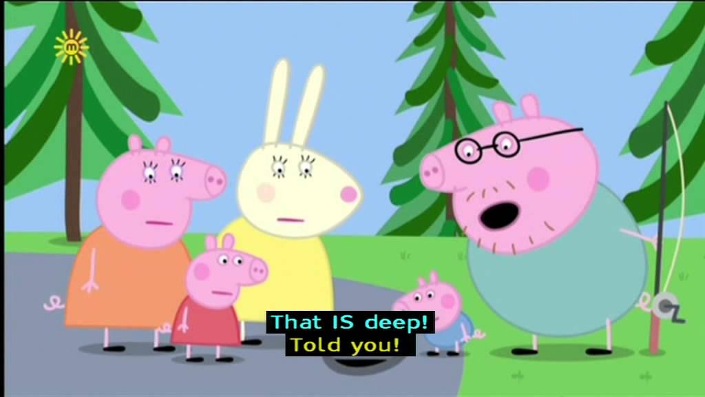Peppa Pig Series 4 Lost Keys With Subtitles Youtube