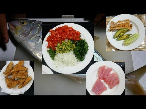 Catch And Cook All-Nighter: Yellow Jack - Four Dishes