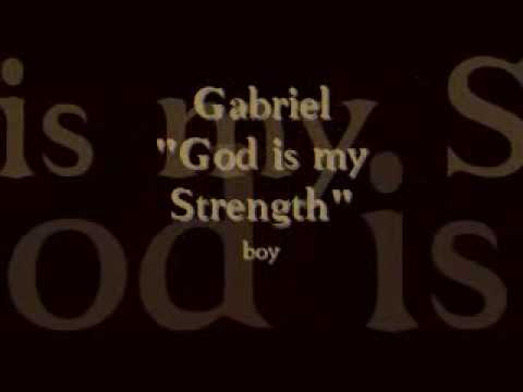 Baby Names from the Bible's Names That Mean Strength Video