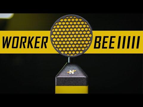 Neat Worker Bee Cardioid Condenser Microphone Review / Test (ft. King Bee vs Worker Bee)