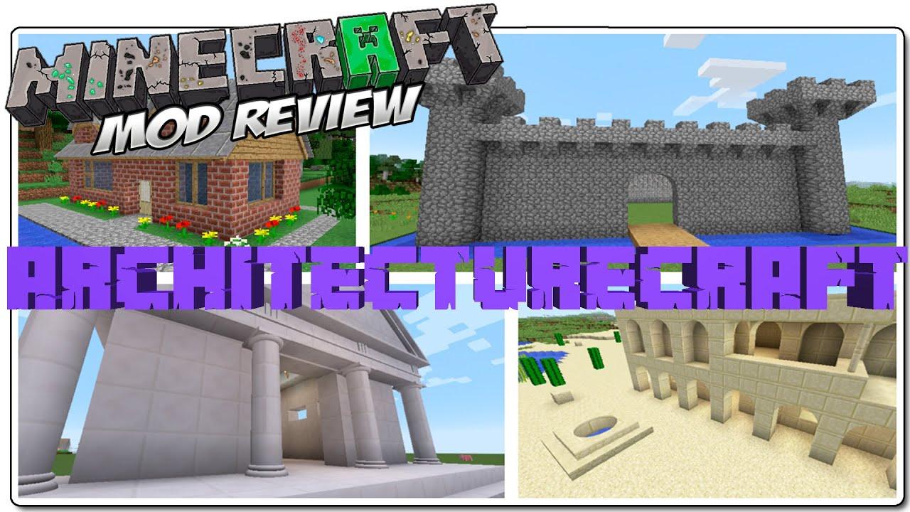 architecturecraft mod minecraft 1 8 espa ol construcci n On construccion de casas minecraft