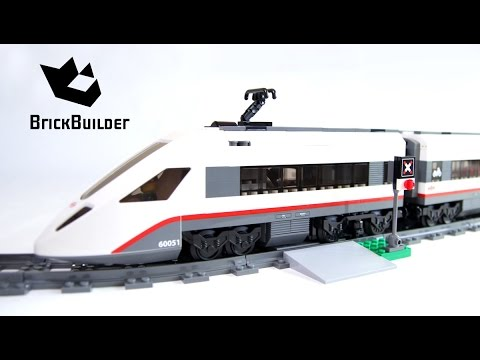 Lego City 60051 High Speed Passenger Train Lego Speed