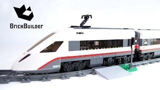Kijk Lego City 60051 High-speed Trein filmpje