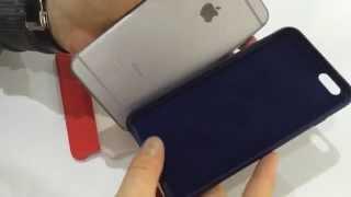 Чехлы Apple Leather Case для iPhone 6 plus